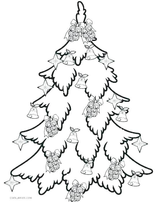 541x700 Christmas Tree Ornaments Coloring Pages Trees Coloring Pages