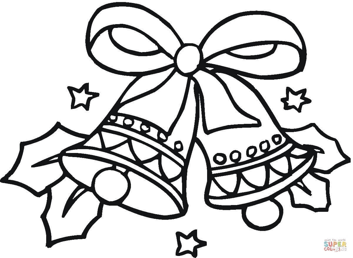 1200x877 Cool Christmas Bells Coloring Page And Pages Itgod Me In Ornaments
