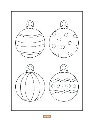 306x396 Ornament Coloring Page Ornaments Color Pages Ornaments Coloring