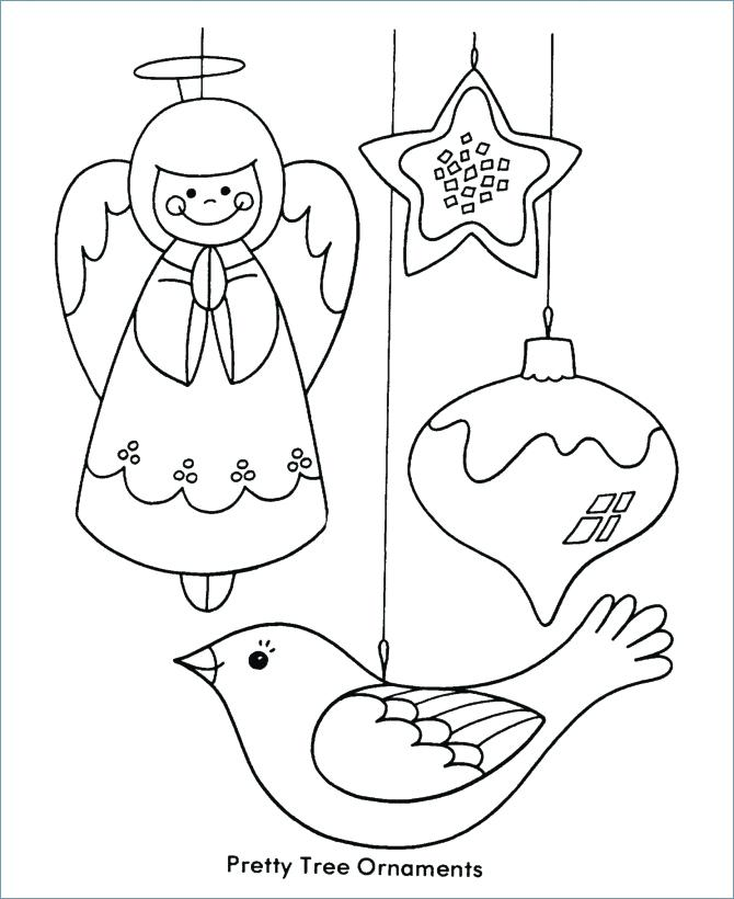670x820 Ornament Coloring Page Printable Tree Ornaments Coloring Pages Fun