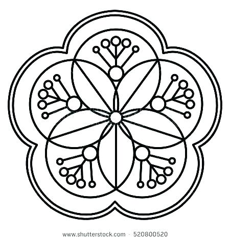 450x470 Ornament Coloring Pages Printable