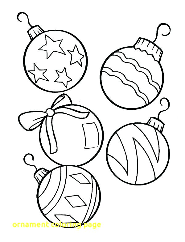 600x783 Big Christmas Coloring Pages Coloring Pages Ornaments Printable