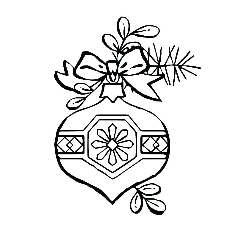 800x800 Ornament Coloring Pages To Print