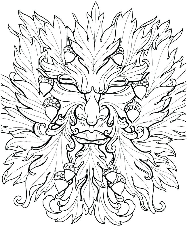 picture relating to Printable Wiccan Coloring Pages known as Printable Pagan Coloring Web pages at  Absolutely free for