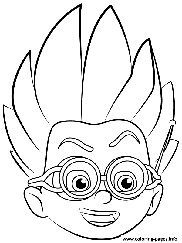 graphic relating to Pj Masks Coloring Pages Printable titled Printable Pj Masks Coloring Internet pages at  No cost