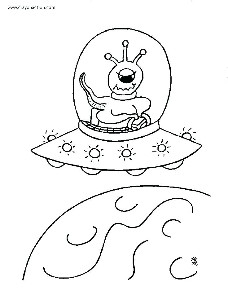 Printable Planet Coloring Pages