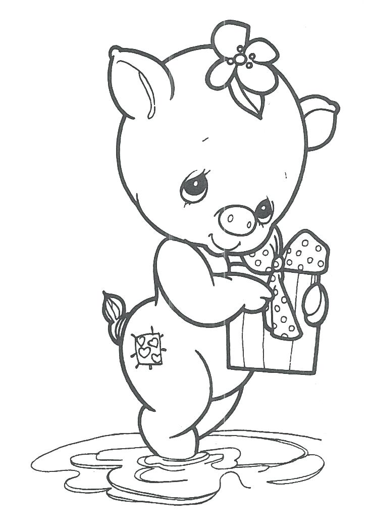 735x1043 Free Precious Moments Coloring Pages Free Printable Precious