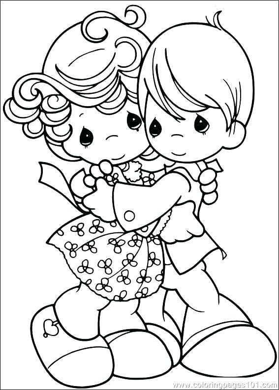 567x794 Precious Moments Angels Coloring Pages Precious Moments Angels