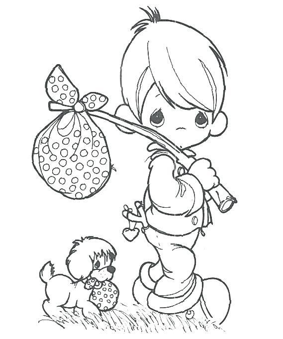 569x682 Precious Moments Christmas Coloring Book Printable Precious