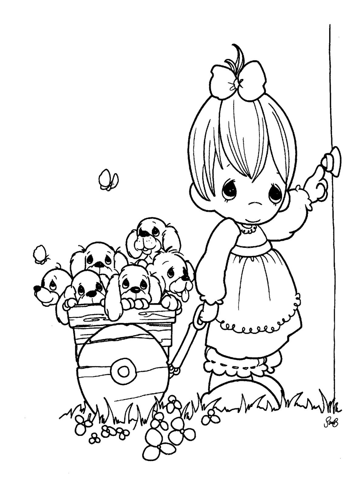 1179x1600 Precious Moments Coloring Book Neo Coloring
