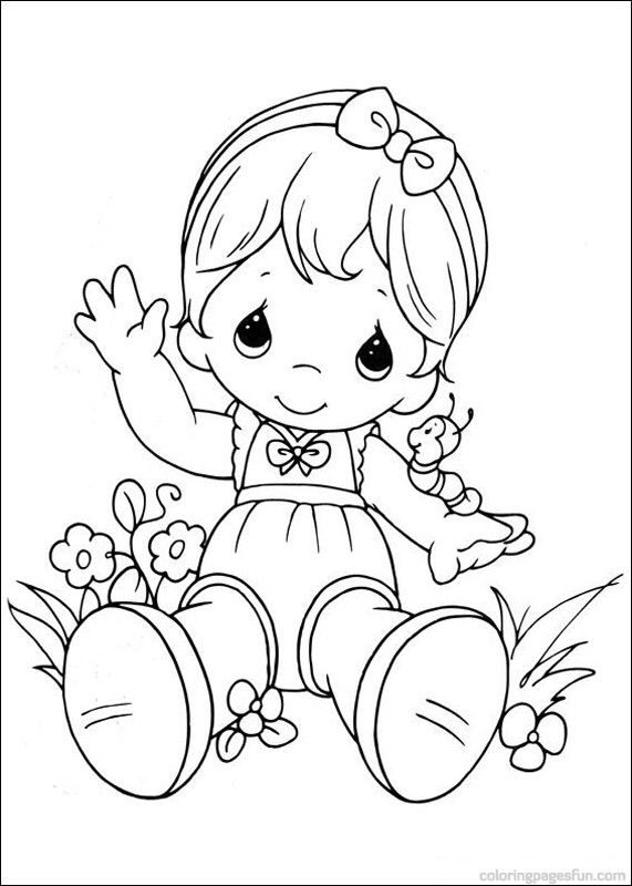 571x800 Best Coloring Pages Precious Moments Images