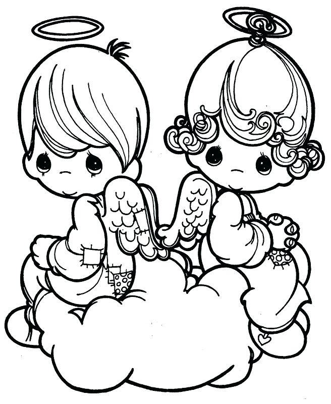 656x800 Precious Moments Printable Coloring Pages Angel Precious Moments