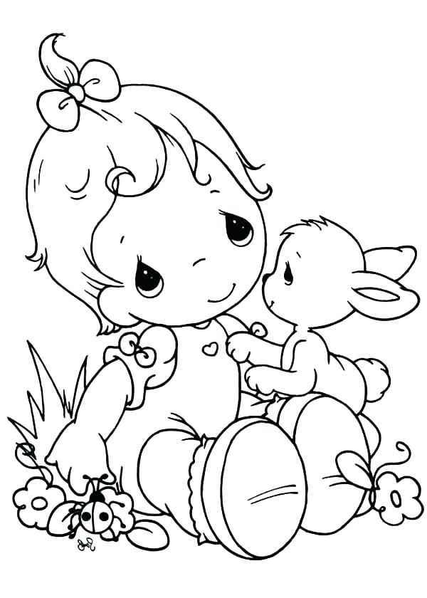 600x840 Printable Precious Moments Coloring Pages