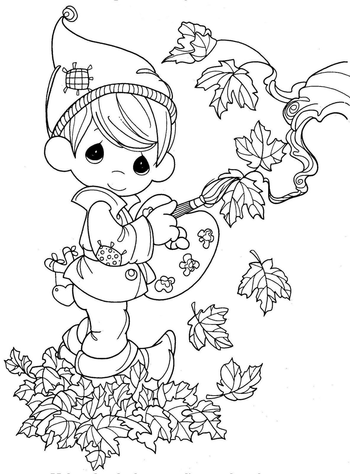 1182x1600 Best Precious Moments Coloring Pages Images On Page Printable