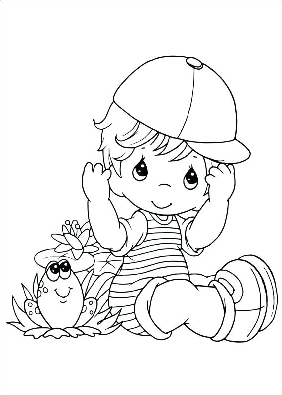 567x794 Coloring Pages Precious Moments Precious Moments Free Printable