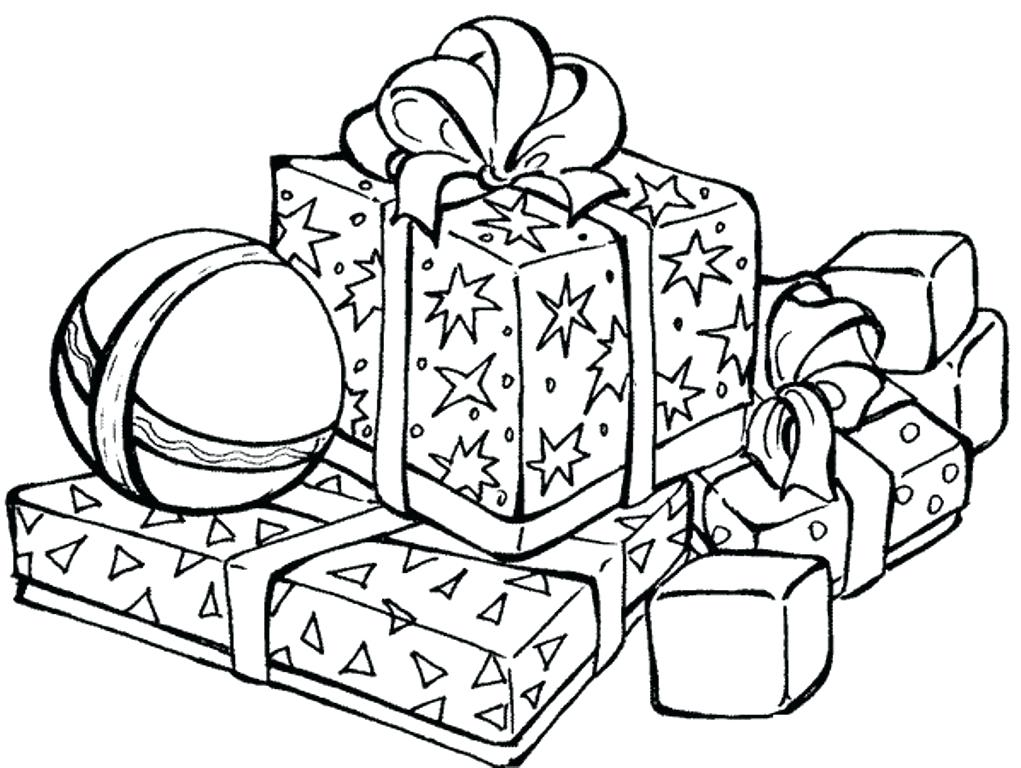 Printable Presents Coloring Pages At Getdrawings Com Free For