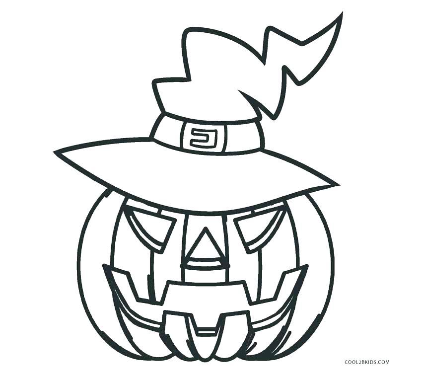 850x765 Pumpkin Color Pages Printable This Is Best Pumpkin Outline Pumpkin