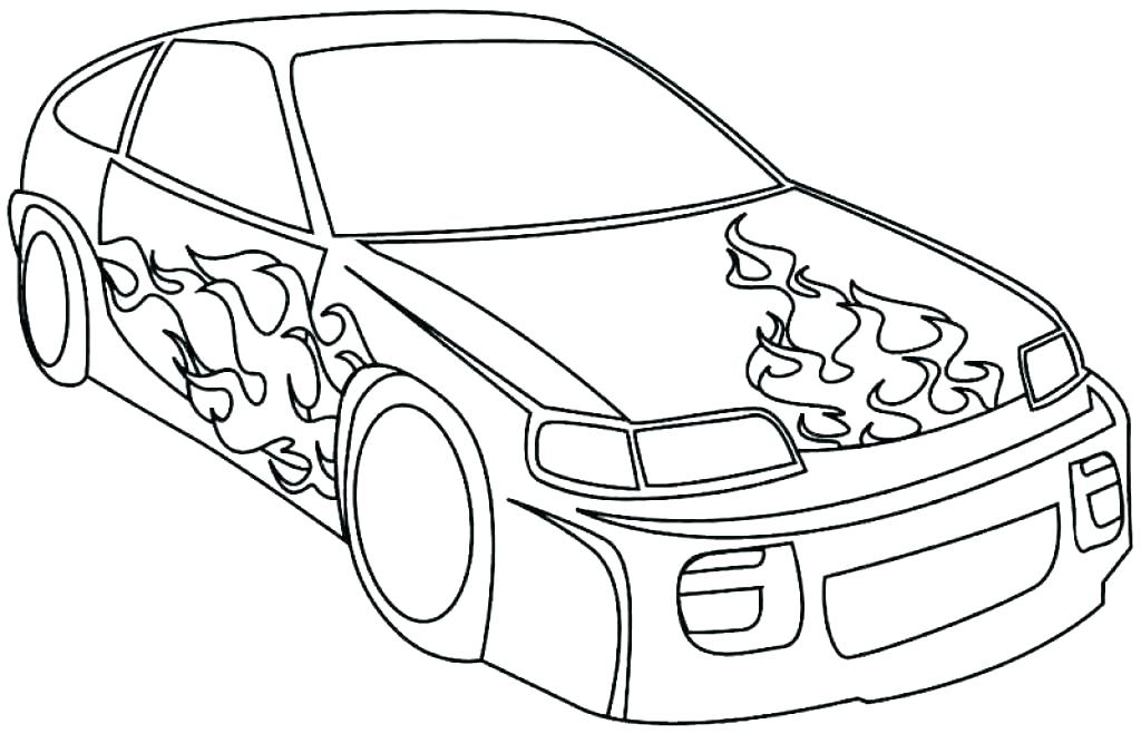 1024x659 Coloring Pages Printable Race Cars Police Cars Coloring Pages Car