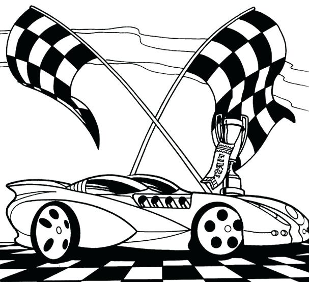 607x554 Free Race Car Coloring Pages Race Car Coloring Sheet Free Race Car
