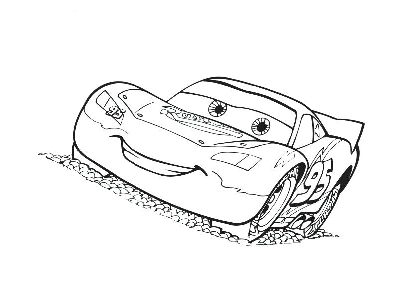 813x604 Attractive Cars Coloring Sheets Exciting Printable Pages For Free