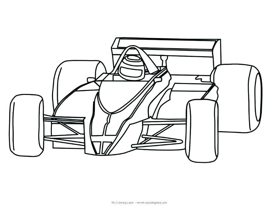 863x667 Race Car Coloring Sheets