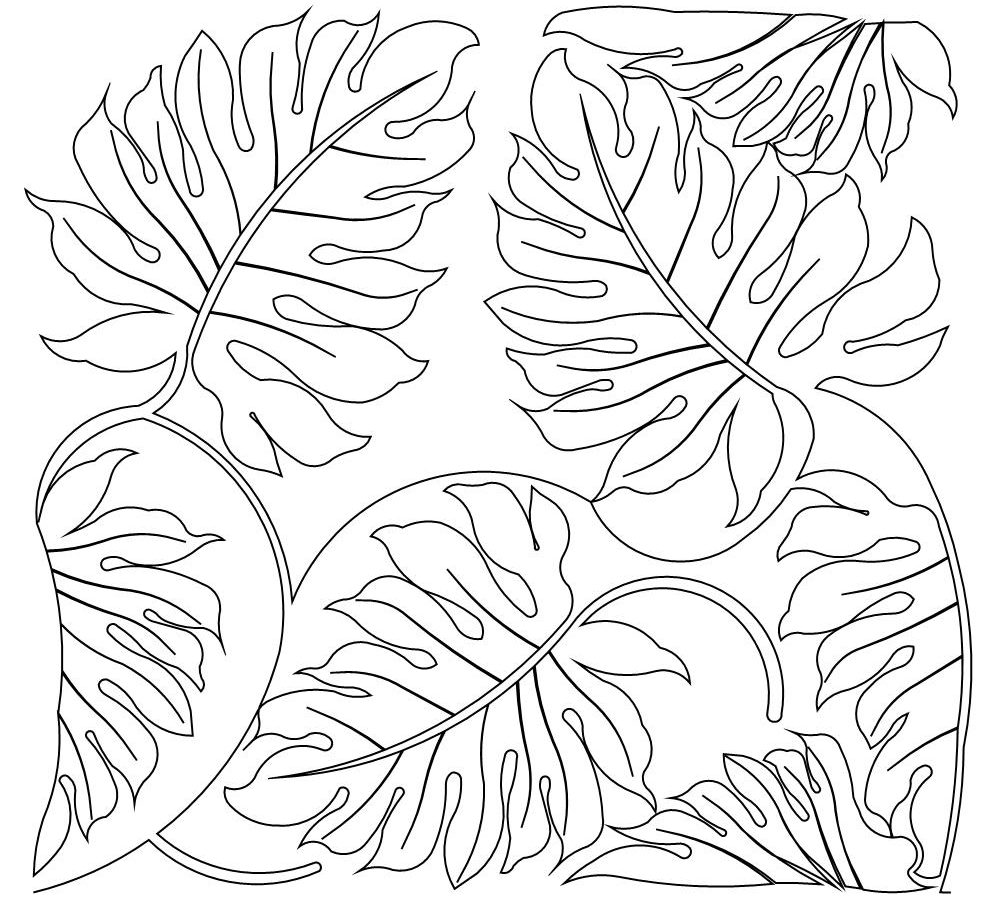 1000x900 Rainforest Plants And Flowers Coloring Pages Print Free Printable