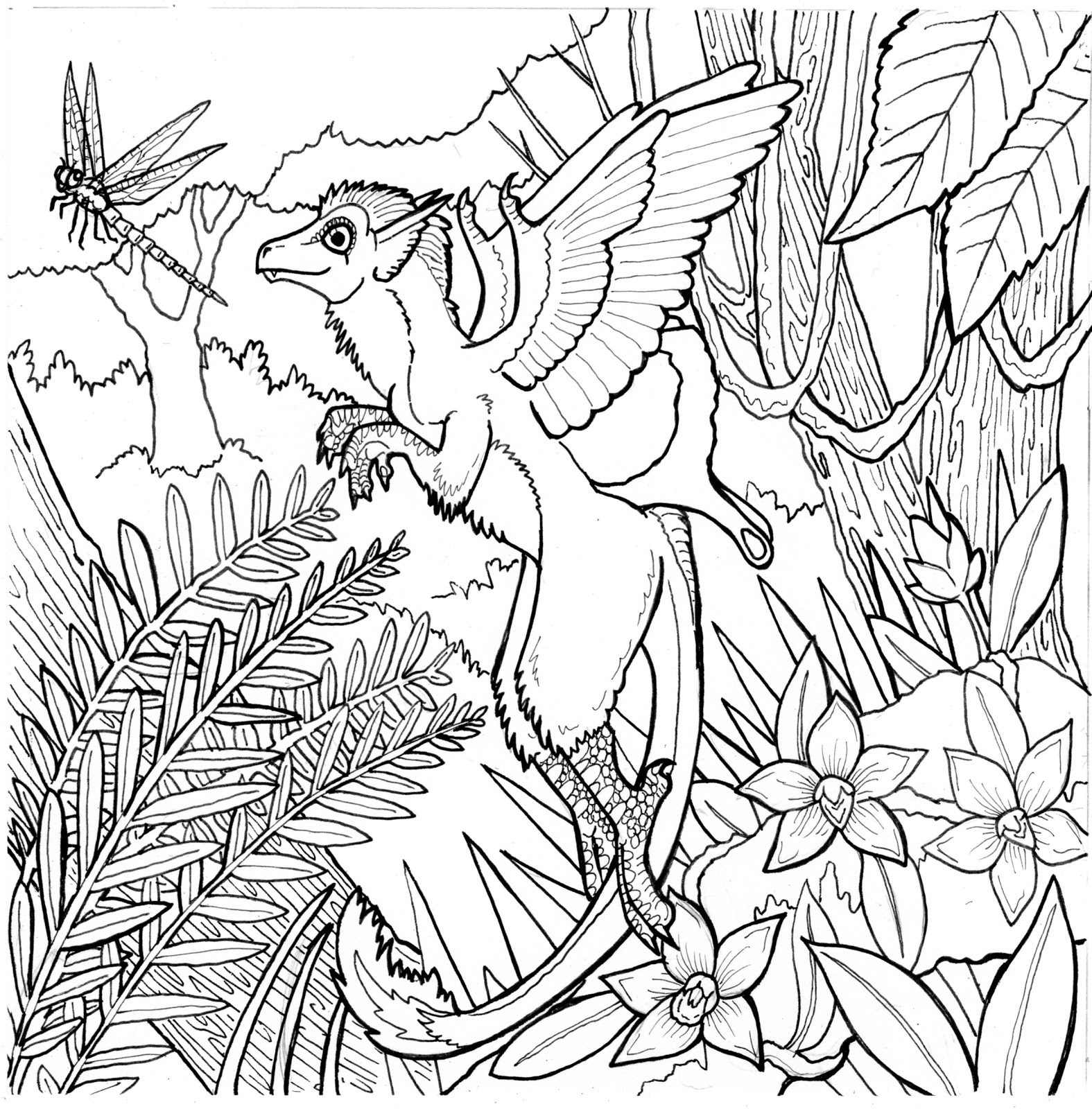 1575x1600 Surprise Rainforest Colouring Sheets Free Printable Coloring Pages