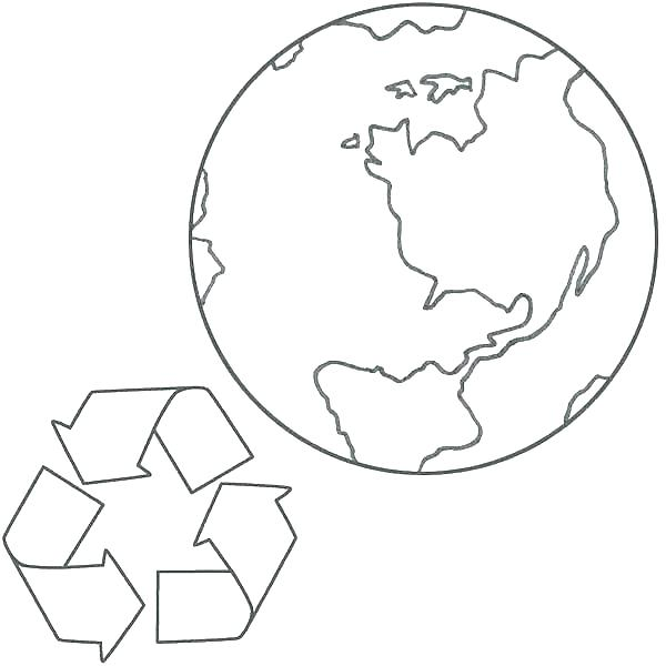 600x600 Recycle Coloring Pages Recycling Coloring Page Charming Recycling