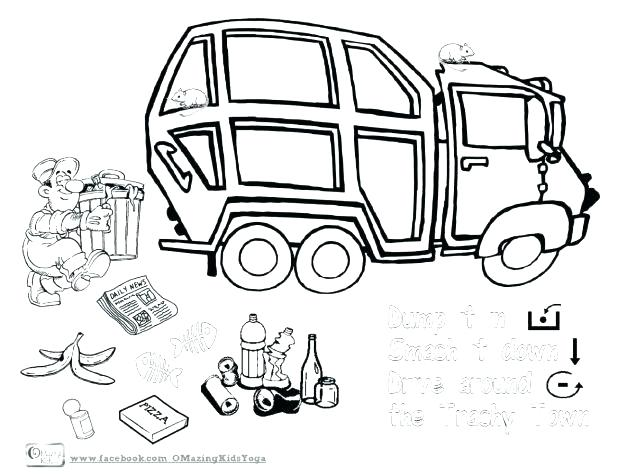 618x474 Recycle Coloring Pages Recycling Coloring Page Free Coloring Page