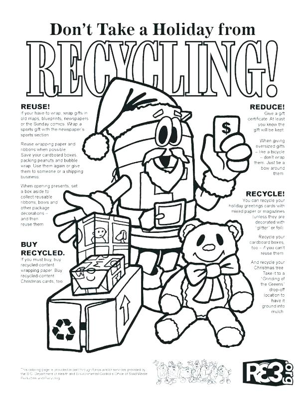 612x798 Recycling Coloring Page Recycling Coloring Pages Printable Go