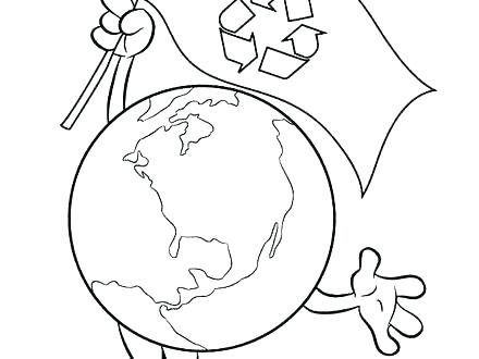 440x330 Recycling Coloring Pages Printable Recycling Coloring Pages