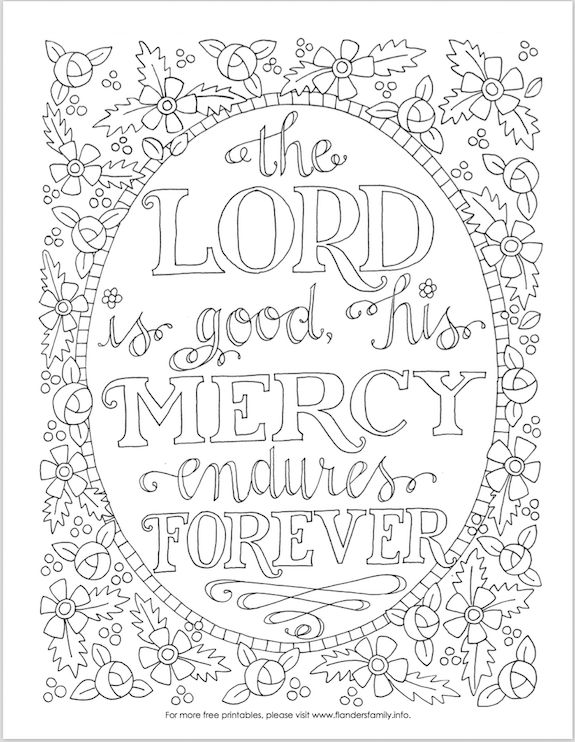 Printable Religious Coloring Pages