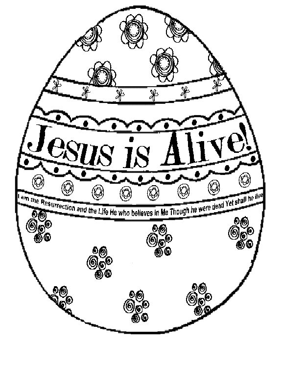 Printable Religious Easter Coloring Pages At Getdrawings Com Free