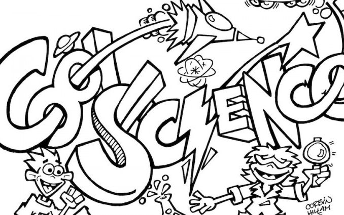 Science Coloring Pages - Coloring Pages | 425x678