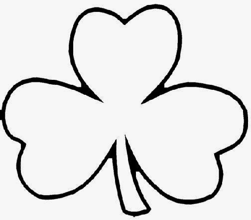 graphic about Printable Shamrock Images titled Printable Shamrock Coloring Internet pages at  Free of charge
