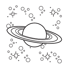 Printable Solar System Coloring Pages
