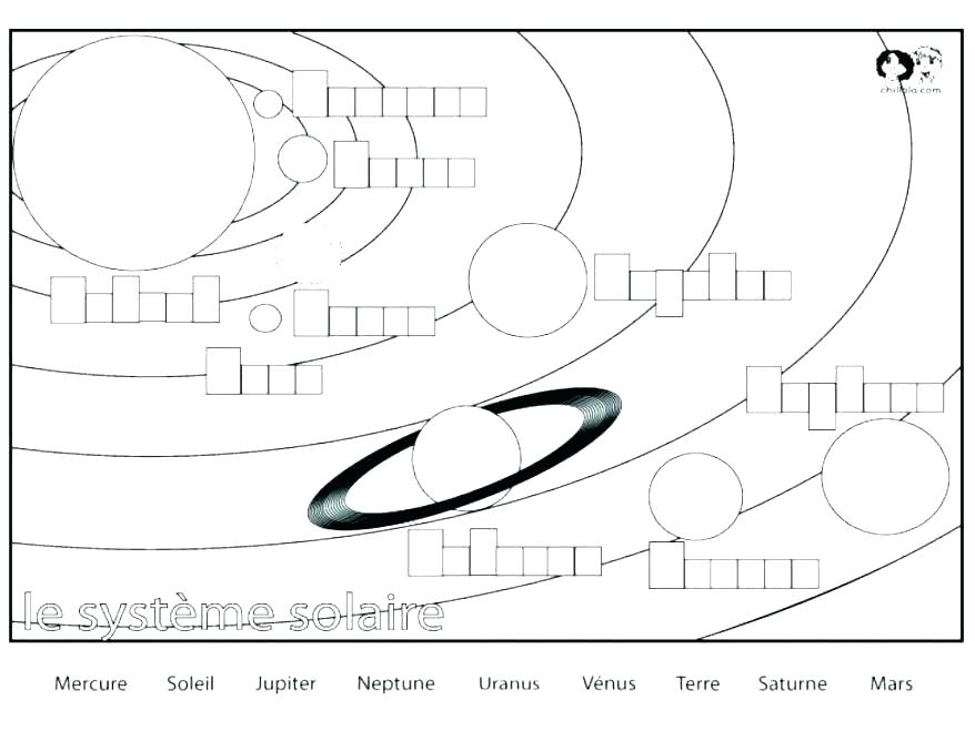 878x659 Solar System Coloring Book Printable And Planet Coloring Page