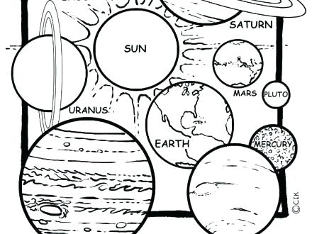 440x330 Solar System Coloring Pages Solar System Printable Coloring Pages