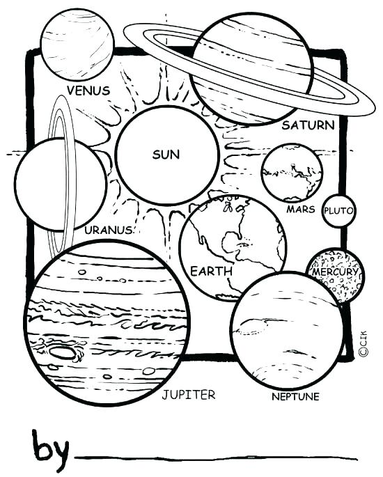 550x685 Solar System For Coloring Solar System Coloring Pages Planets