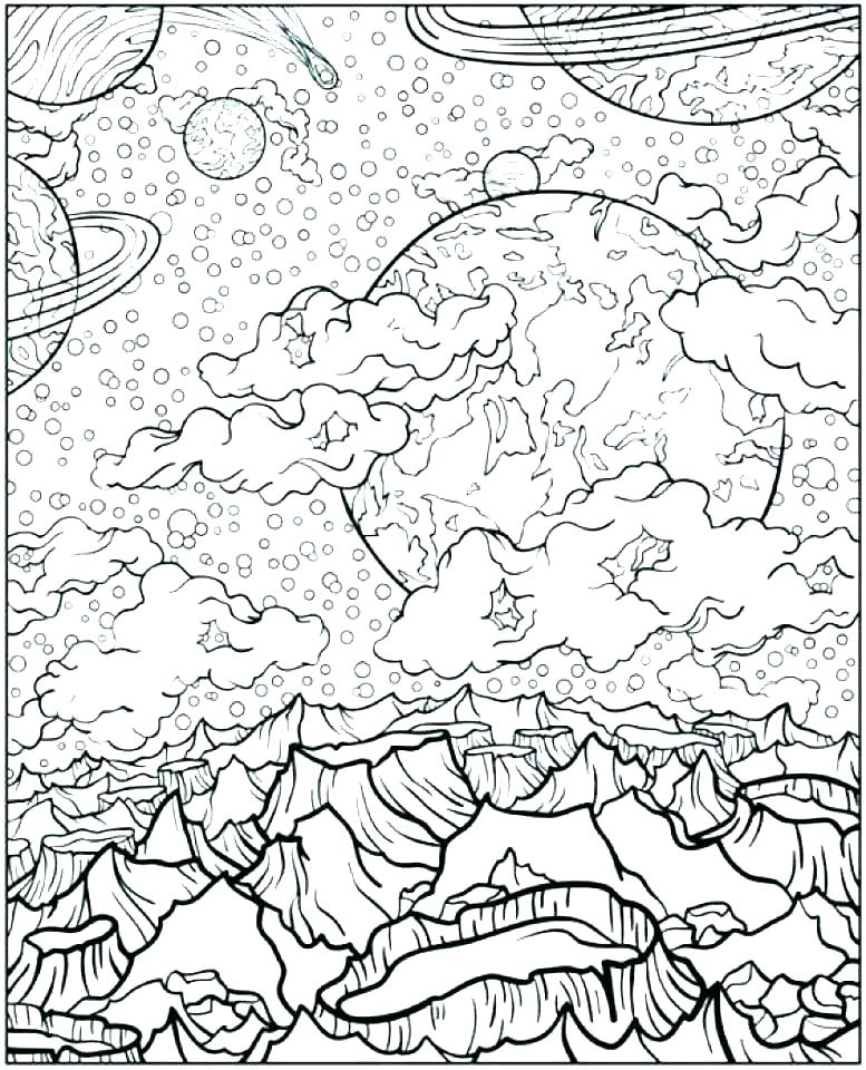 777x960 Space Coloring Page Space Coloring Page Outer Space Coloring Pages