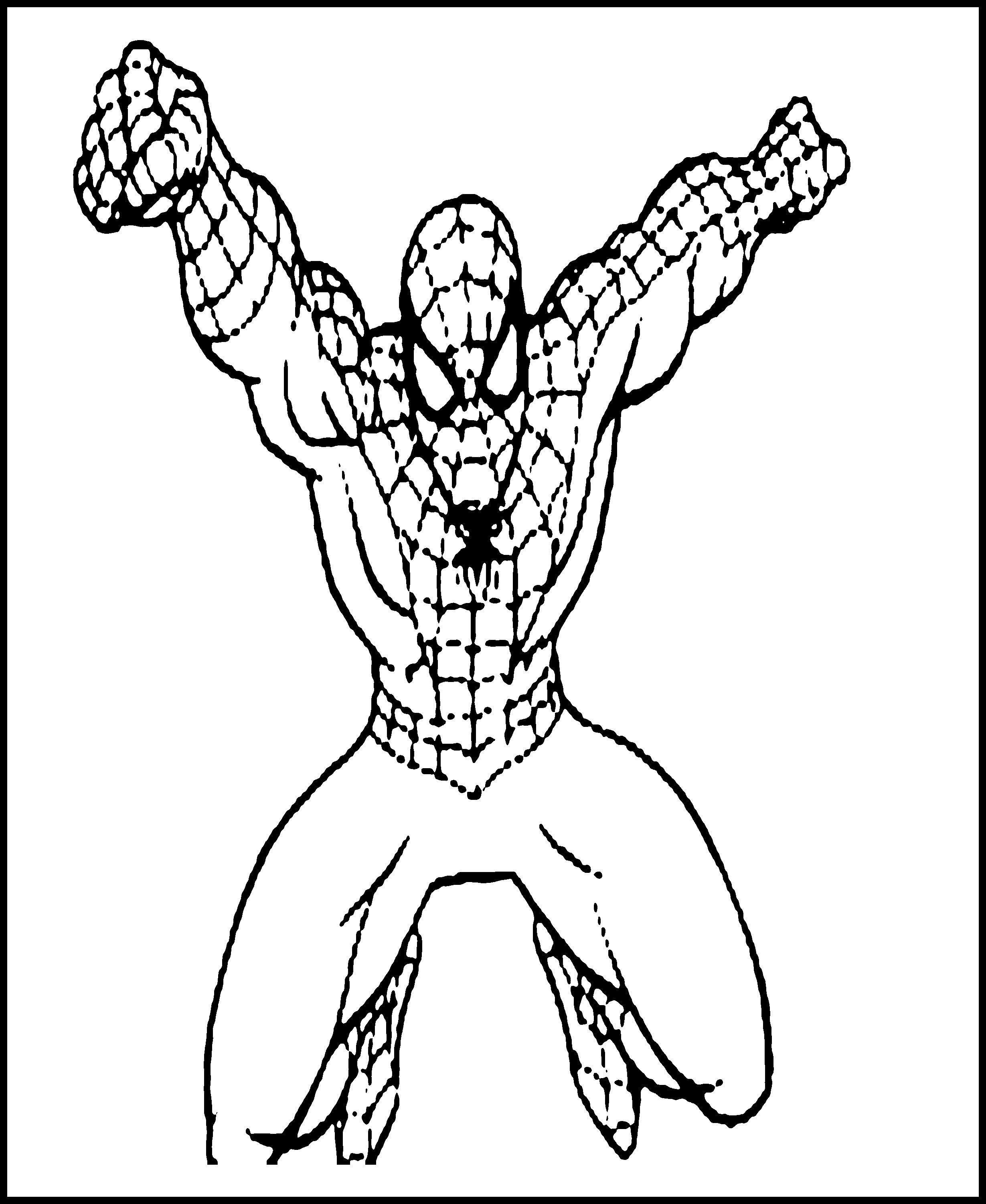 Printable Spiderman Coloring Pages at GetDrawings | Free ...