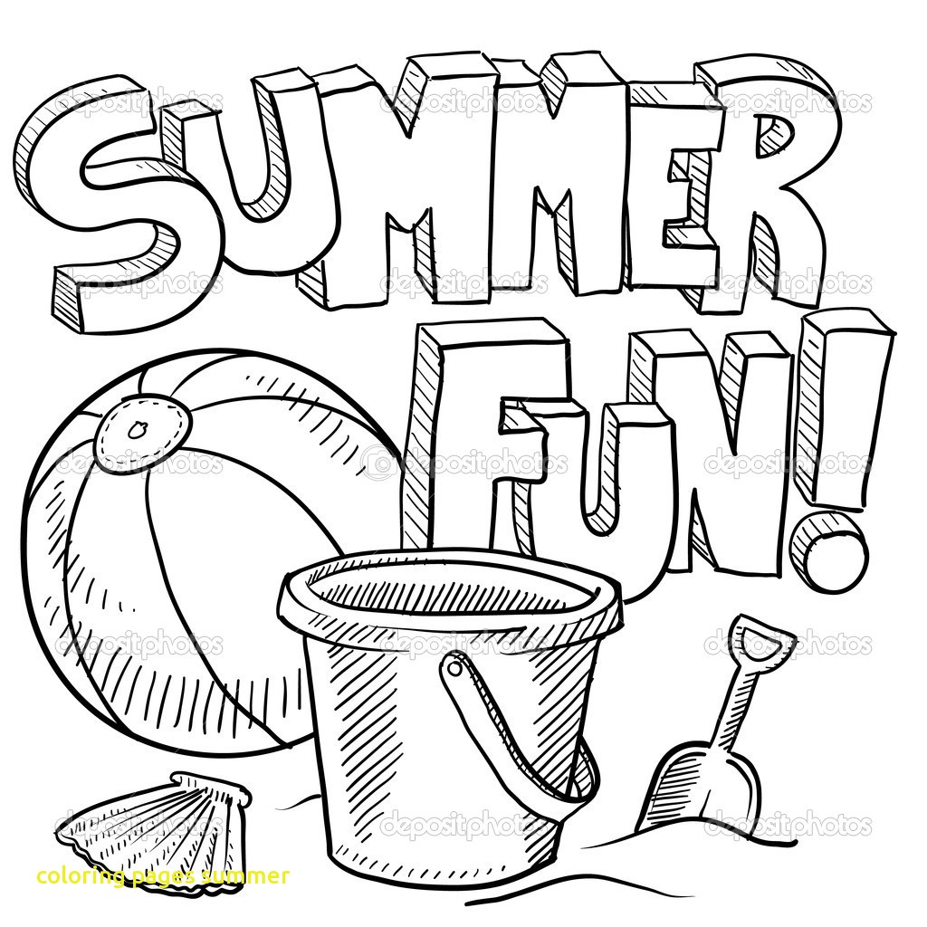 Printable Summer Coloring Pages For Kids at GetDrawings com