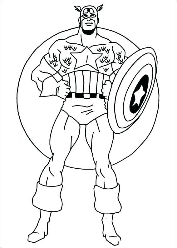 Printable Superhero Coloring Pages At Getdrawings Com Free For
