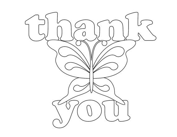 Printable Thank You Coloring Pages at GetDrawings.com | Free ...