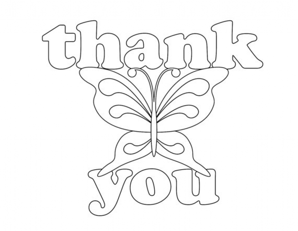 Printable Thank You Coloring Pages at GetDrawings.com | Free for ...