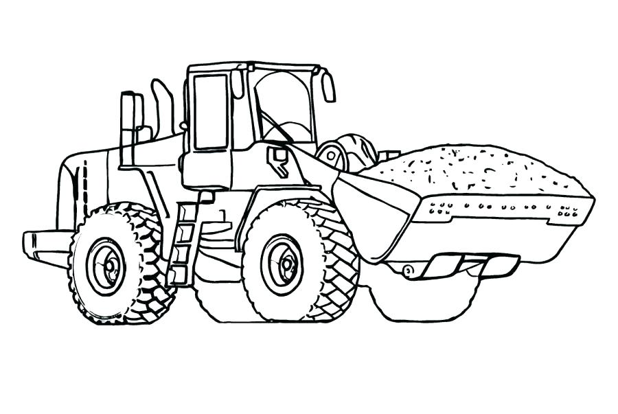 Printable Tractor Coloring Pages at GetDrawings.com   Free for ...