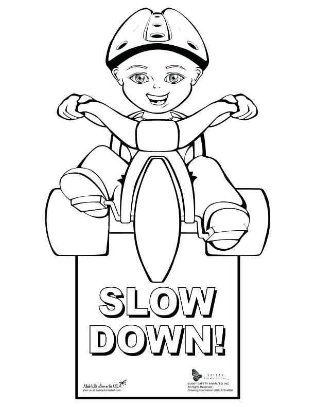 612x792 Also Stop Sign Coloring Page Safety Signs Pages Printable Stop