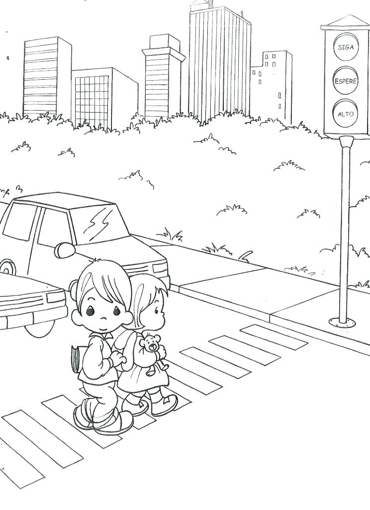 744x1024 Stop Light Coloring Page Stop Light Coloring Page Child Coloring