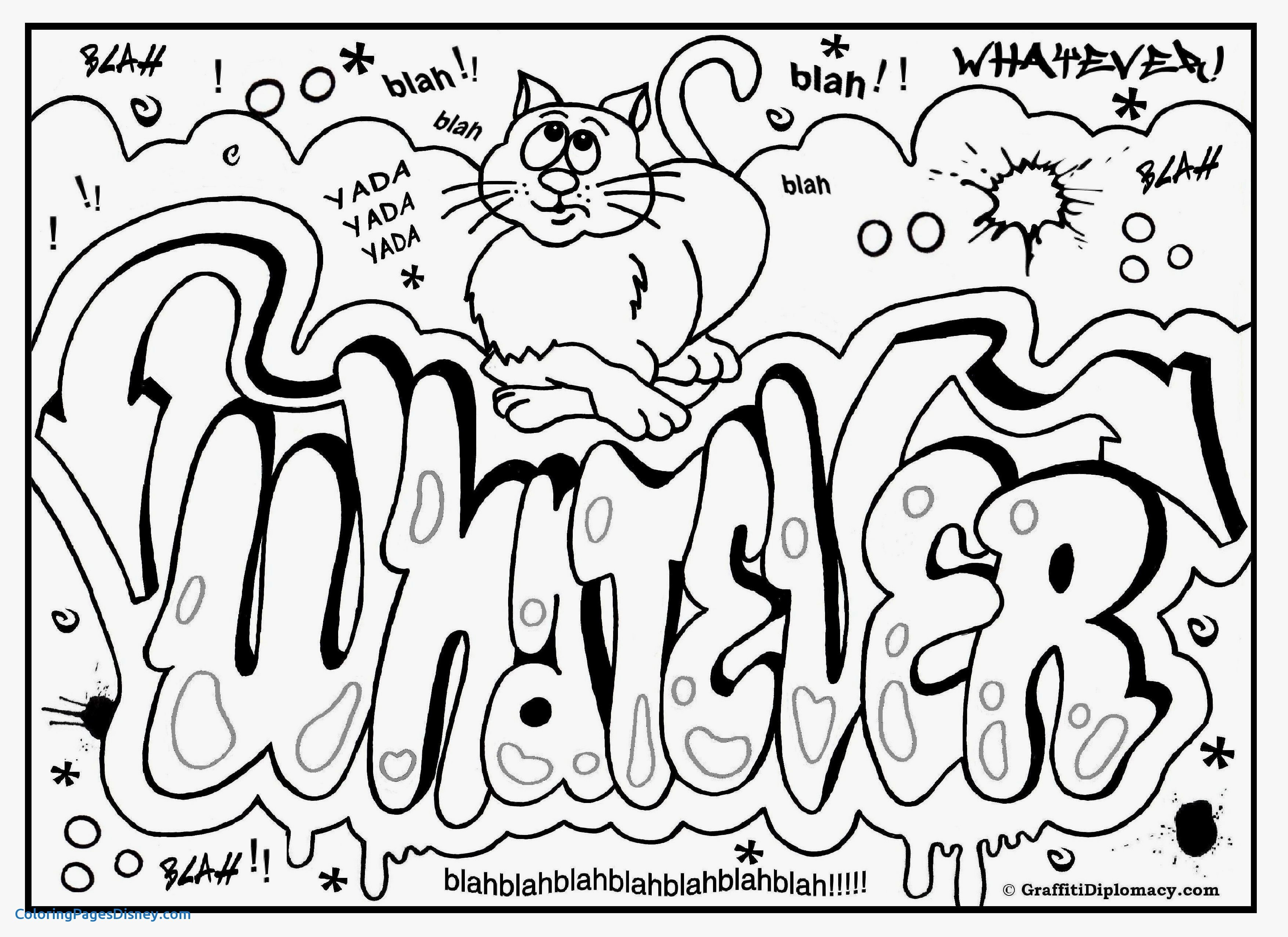 3508x2552 Traffic Signs Coloring Pages New Graffiti Coloring Page Free