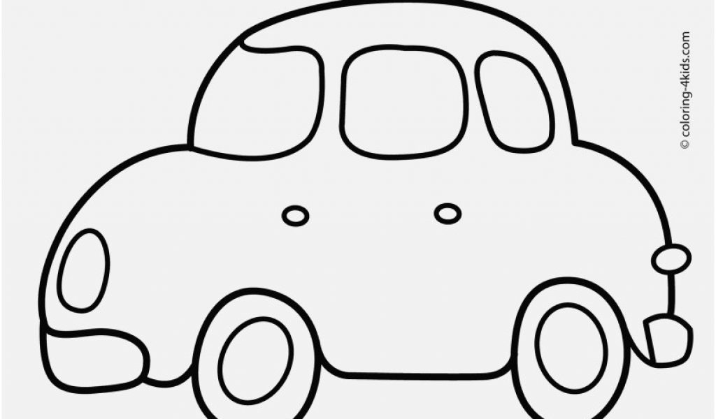 1024x600 Coloring Pages Cars Pictures Simple Car Transportation Coloring